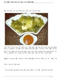 Bí quyết muối dưa cải ngon, ăn chống ngán