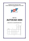 Giáo trình Autocad 2004 - Chương mở đầu