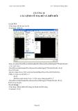 Giáo trình Autocad 2004 - Chương 3