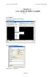 Giáo trình Autocad 2004 - Chương 4