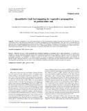 """Báo cáo lâm nghiệp: """" Quantitative trait loci mapping for vegetative propagation in pedunculate oak"""""""