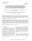 """Báo cáo lâm nghiệp: """"Aboveground biomass relationships for mixed ash (Fraxinus excelsior L. and Ulmus glabra Hudson) stands in Eastern Prealps of Friuli Venezia Giulia (Italy)"""""""