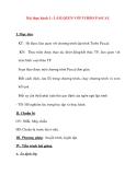 Giáo án Tin Học lớp 8 Ban Tự Nhiên: Bài thực hành 1 : LÀM QUEN VỚI TURBO PASCAL
