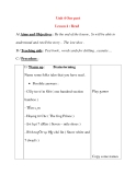 Giáo án Tiếng Anh lớp 8: Unit 4 Our past Lesson 4 : Read