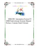 SIMATIC Automation System S7-400H Fault-tolerant Systems Manual  Preface, Contents Fault-Tolerant