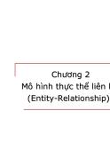 Bài giảng Nhập môn Cơ sở dữ liệu - Chương 2