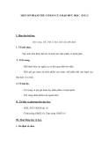 MỘT SỐ PHẠM TRÙ CƠ BẢN CỦA ĐẠO ĐỨC HỌC (Tiết 2)