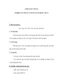 CÔNG DÂN VỚI SỰ NGHIỆP XÂY DỰNG VÀ BẢO VỆ TỔ QUỐC (Tiết 2)