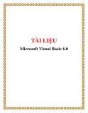 Giáo trình Microsoft Visual Basic 6.0