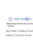 Bài tập viết phương trình hóa học