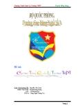 Đề tài: Chương trình quản lí trường THPT
