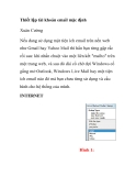 Thiết lập tài khoản email mặc định Xuân Cường