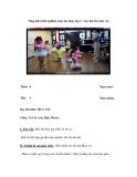 Sáng kiến kinh nghiệm môn âm nhạc lớp 2 – học hát bài múa vui