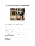 Sáng kiến kinh nghiệm môn đạo đức lớp 2 – Dành cho địa phương vệ sinh trường lớp