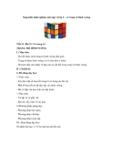 Sáng kiến kinh nghiệm môn tập vẽ lớp 2 – vẽ trang trí hình vuông