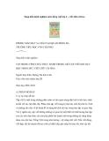 Sáng kiến kinh nghiệm môn Tiếng Việt lớp 2 - Viết chữ cái hoa