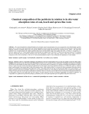 """Báo cáo lâm nghiệp: """"Chemical composition of the periderm in relation to in situ water absorption rates of oak, beech and spruce fine roots"""""""