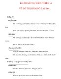 Giáo án Toán 12 ban cơ bản : Tên bài dạy : KHẢO SÁT SỰ BIẾN THIÊN và VẼ ĐỒ THỊ HÀM SỐ BẬC BA