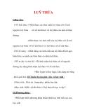 Giáo án Toán 12 ban cơ bản : Tên bài dạy : LUỸ THỪA