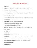 Giáo án Toán 12 ban cơ bản : Tên bài dạy : ÔN TẬP CHƯƠNG IV