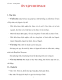 Giáo án Toán 12 ban cơ bản : Tên bài dạy : ÔN TẬP CHƯƠNG II