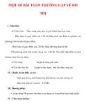 Giáo án Giải tích 12 ban tự nhiên : Tên bài dạy : MỘT SỐ BÀI TOÁN THƯỜNG GẶP VỀ ĐỒ THỊ