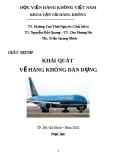 Giáo trình Khái quát về hàng không dân dụng - TS. Dương Cao Thái Nguyên (chủ biên)