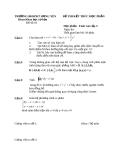 Đề thi toán cao cấp 3 trường ĐHSPKT Hưng Yên - đề số 3
