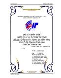 Đề tài : Áp dụng Six Sigma tại ngân hàng TMCP Kỹ Thương Việt Nam
