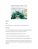Sáng kiến kinh nghiệm y học đại hoc – liệt mặt