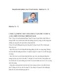 Sáng kiến kinh nghiệm y học cổ truyền đại học – Bệnh học Tỳ – Vị