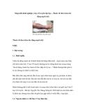 Sáng kiến kinh nghiệm y học cổ truyền đại học – Thoát cốt thư (viêm tắc động mạch chi)