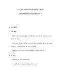 VẬN TỐC TRONG CHUYỂN ĐỘNG THẲNG - CHUYỂN ĐỘNG THẲNG ĐỀU (Tiêt 1)