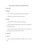 THỰC HÀNH XÁC ĐỊNH GIA TỐC RƠI TỰ DO (2 tiết)