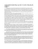 Mối liên hệ giữa Đảng và giai cấp CN. Liên hệ vs Đảng cộng sản VN hiện nay