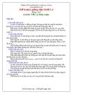 Kế hoạch giảng dạy khối Lá - Chủ đề: Tết và Mùa xuân