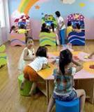Sáng kiến kinh nghiệm – một số biện pháp để lứa tuổi nhà trẻ ham thích đến lớp học