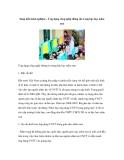 Sáng kiến: Ứng dụng công nghệ thông tin trong bậc học mầm non