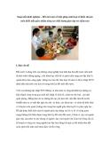 Sáng kiến kinh nghiệm – Đổi mới một số biện pháp sinh hoạt tổ khối chuyên môn khối mẫu giáo nhằm nâng cao chất lượng giáo dục trẻ mầm non