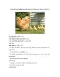 Sáng kiến kinh nghiệm môn kể chuyện lớp mẫu giáo – bạn gà và bạn vịt