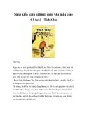 Sáng kiến kinh nghiệm môn văn mẫu giáo 4-5 tuổi – Tích Chu