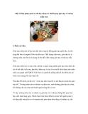 Một số biện pháp quản lý chỉ đạo nâng cao chất lượng giáo dục ở trường mầm non