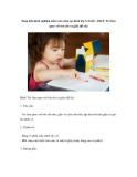 Sáng kiến kinh nghiệm mầm non môn tạo hình lớp 3-4 tuổi – Bài 8: Trẻ làm quen với bút chì và giấy (đề tài)