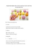 Sáng kiến kinh nghiệm mầm non môn tạo hình lớp 3-4 tuổi – Bài 23: Nặn tròn làm bánh (đề tài)