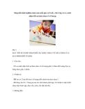 Sáng kiến kinh nghiệm môn toán mẫu giáo 4-5 tuổi – bài 2 dạy trẻ so sánh nhận biết sự khác nhau về số lượng