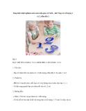 Sáng kiến kinh nghiệm môn toán mẫu giáo 4-5 tuổi – bài 9 dạy trẻ số lượng 1 và 2, đếm đến 2