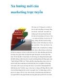 Xu hướng mới của marketing trực tuyến