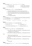 Đề trắc nghiệm toán 12