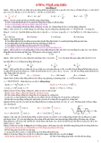 1200 câu trắc nghiệm vật lý 12