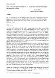 GIA TẢI CHÂN KHÔNG RÚT NGẮN THỜI GIAN CỐ KẾT ĐẤT YẾU DƯỚI CÔNG TRÌNH
